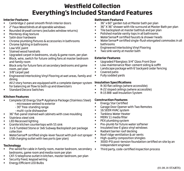 Westfield Collection