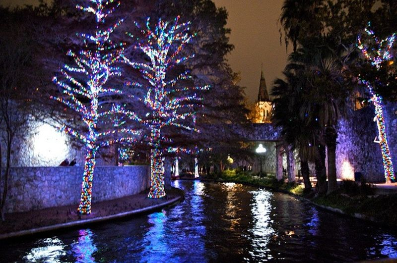 there are few places more beautiful or festive over the holidays than san antonio several san antonio holiday events taking place throughout the city give - Christmas Lights College Station