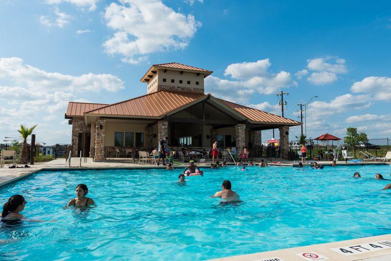 Pool grand opening